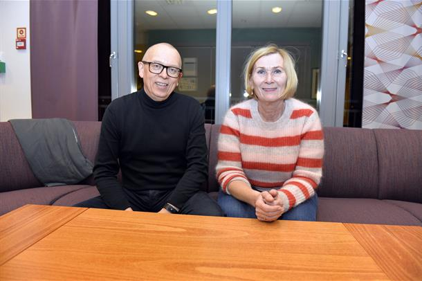 Herald Reiersen og Anne Ingeborg Pedersen
