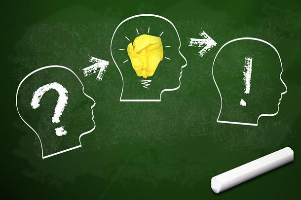Innovasjonsprosess fra spørsmål til ide til løsning