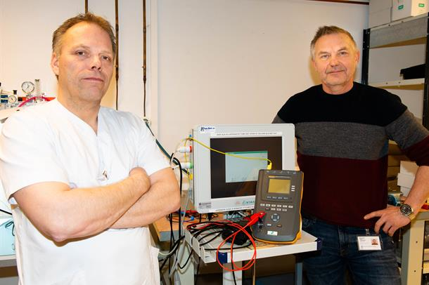 Roger Bjørkås og Bjørn Kjærstad